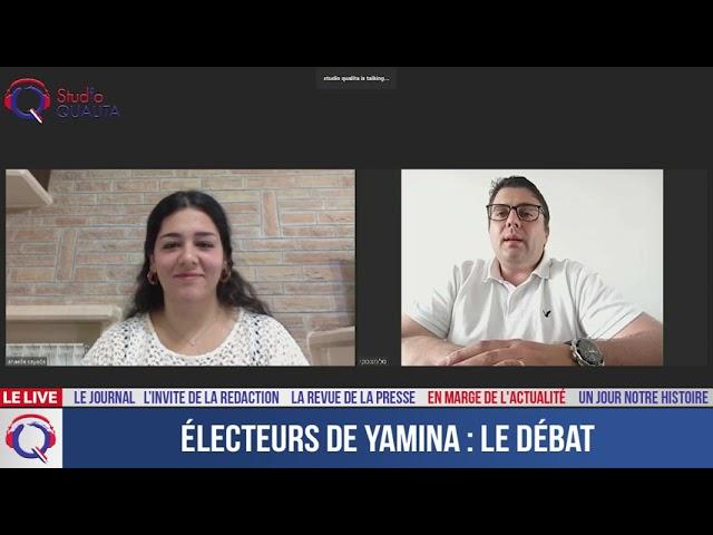 Électeurs de Yamina : le débat - En marge de l'actualité du 17 juin 2021