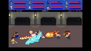 Little Fighter 2 Gameplay