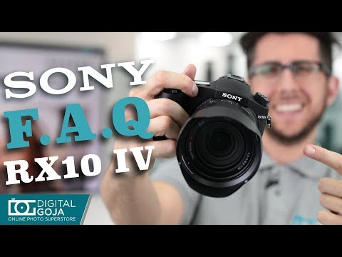 Top 10 Most Common Questions | Sony Cyber-shot DSC-RX10 IV | TUTORIAL