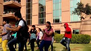 Flash Mob Dance For Bollywood & South Indian Songs Part I- Dell Funtastic Friday - Sreekanth Adari