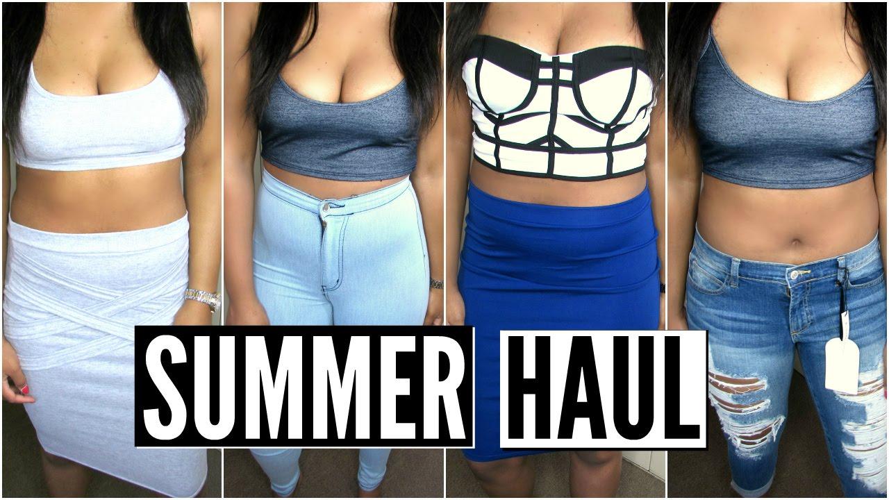 Summer Fashion Haul (TRY-ON!) Everything under $10!   Fashion Nova
