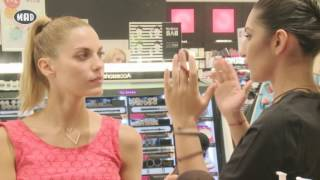 H Mαντώ μαθαίνει μυστικά make up στα Sephora!