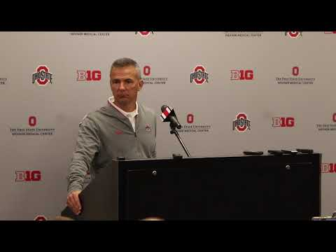 Urban Meyer talks about Purdue ahead of Saturday's game