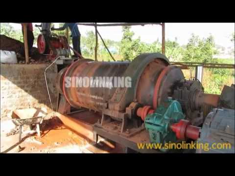 5ton per hour hard rock processing plant working in Congo