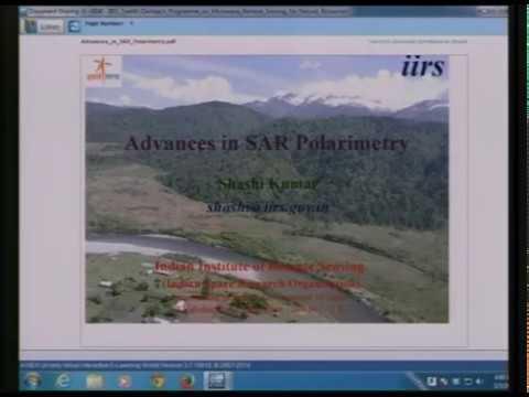 Advances in  SAR Polarimetry
