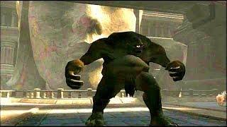 KRATOS VS CICLOPES - GOD OF WAR 2 TITAN VERY HARD