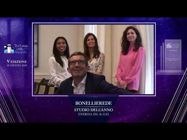 Mario Roli, BonelliErede - TopLegal Industry Awards