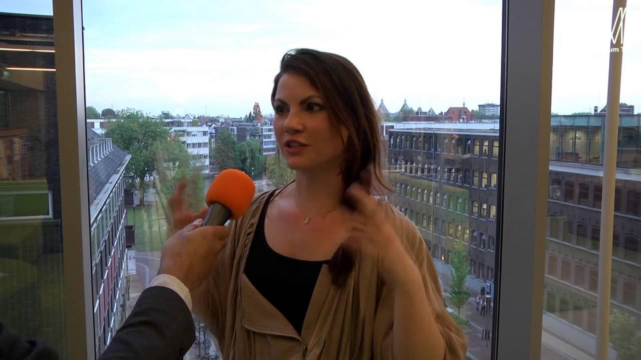 MediumTV Met Linda Hakeboom Bij Amsterdam College Tour