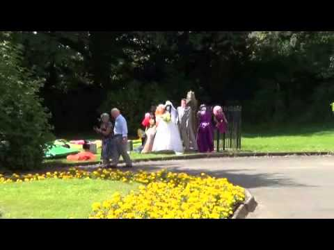 king misty goes to the west kilbride scarecrow festival