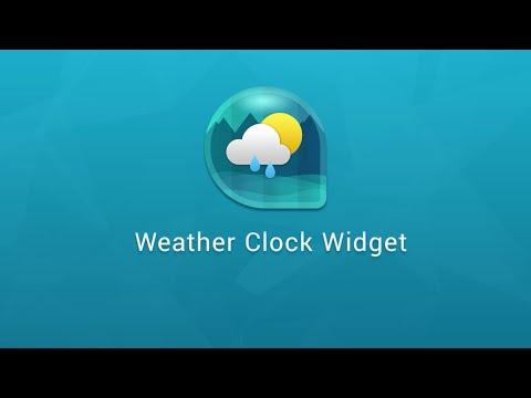 Best App On Weather Clock And Widget