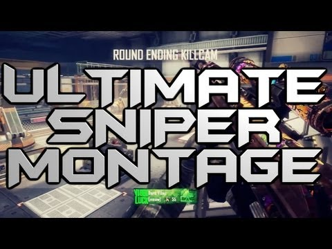 Black Ops 2 ULTIMATE Quick Scope Sniper Montage/Gameplay [Community]