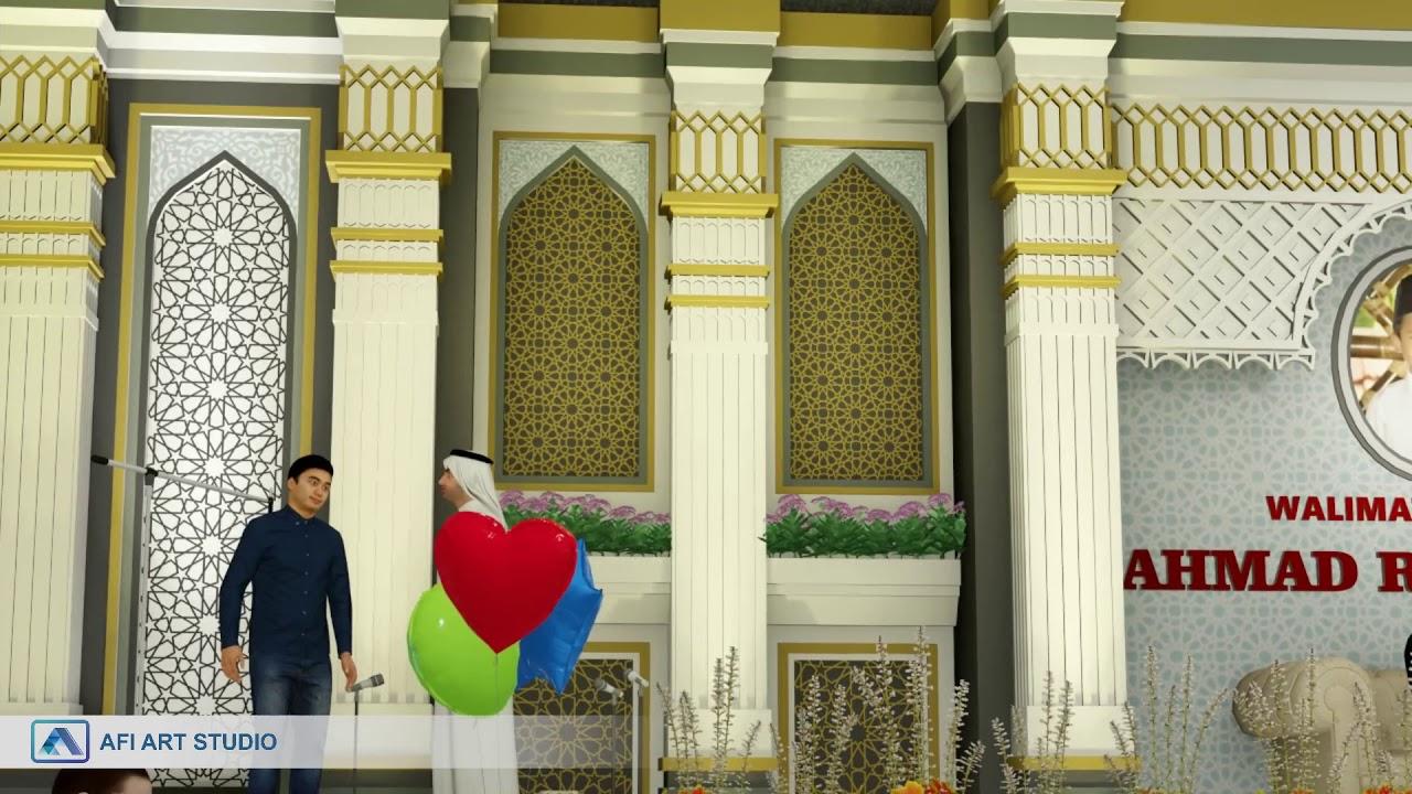 Konsep Desain Dekorasi Panggung By Afi Art Studio