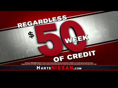 Harte Nissan: $50 Down/$50 A Week   Youu0027re Approved Regardless Of Credit!