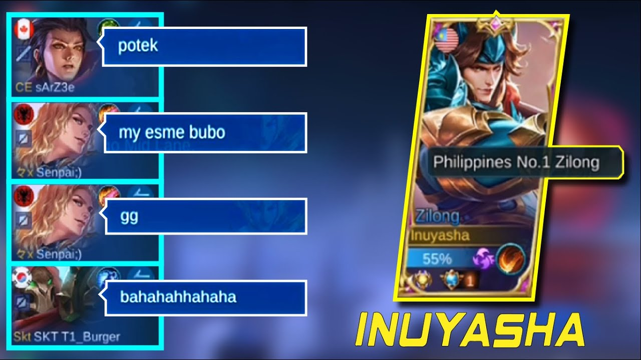 "PRANK!! #21 ""Please pa last Pick!!!"" INTENSE BATLLE | Top 1 Philippines/Global Zilong: Inuyasha."