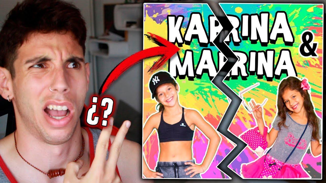 Se Revela El Secreto De Karina Y Marina Es La Misma Son Gemelas Youtube