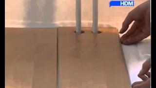 Укладка ламината видео. Инструкция от компании HDM(Подробную инструкцию по укладке ламината можно посмотреть здесь:http://floors-doors.ru/stati/40-laminirovannyj-parket-laminat-tekhnologiya-uk..., 2014-02-05T18:46:44.000Z)