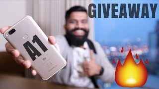 Xiaomi Mi A1 Giveaway - First Look and Hands On - Android One!!