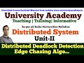 L13: Distributed Deadlock Detection | Edge Chasing Algorithm with Example in hindi by Prince Sir