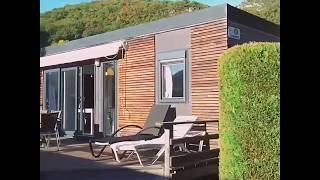 n°32 Mobile-home Pyrénées luxe - location Pyrénées