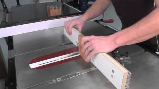 Infinity Cutting Tools - Box Joint Jig Router Table & Table Saw