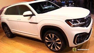 2020 Volkswagen Atlas Cross Sport - Exterior Interior Walkaround - 2019 LA Auto Show