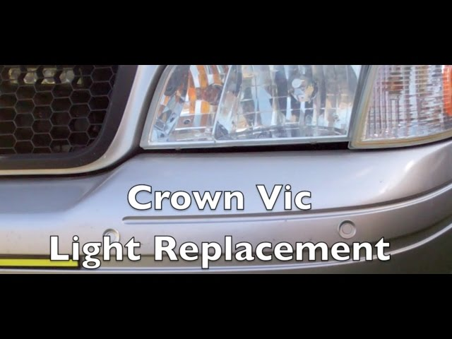 Ford Crown Vic P71 P7b Bulb Swap Complete Guide Youtube