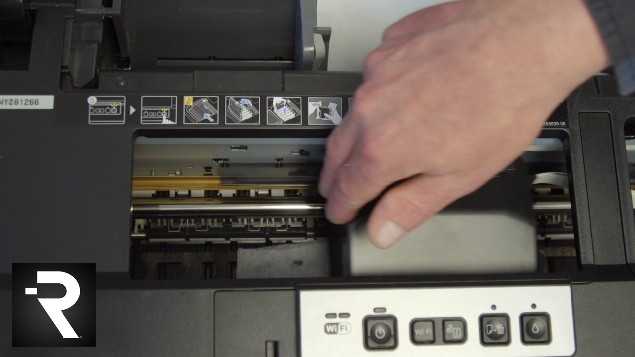 How To Manually Clean Your Epson 1430 Printer Printheads