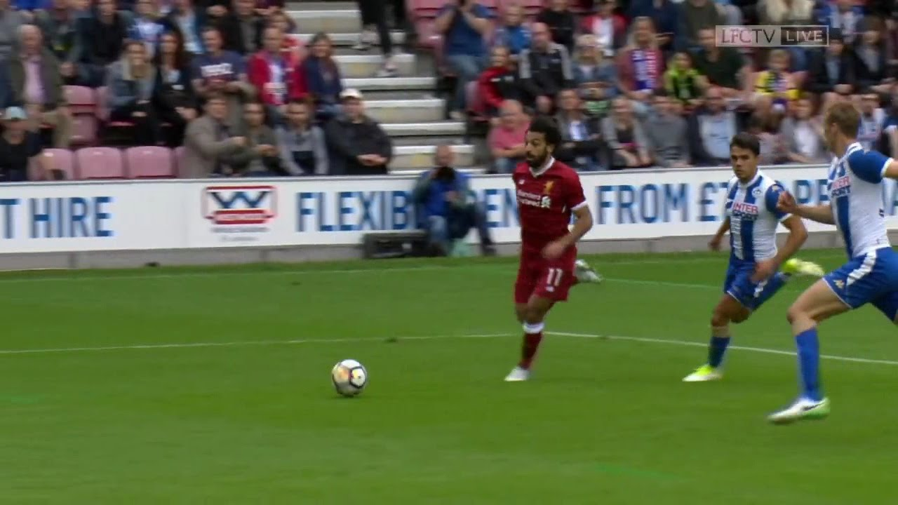 Download Mohamed Salah vs Wigan Athletic (Debut Match) 17-18 HD 720p (14/07/2017)
