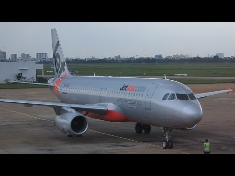 Flight Review Jetstar Asia A320 Ho Chi Minh City to Singapore