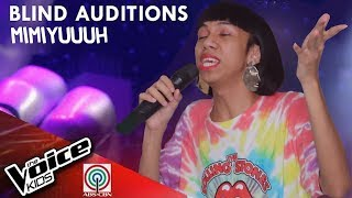 Kung &#39Di Rin Lang Ikaw by Mimiyuuuh The Voice Kids Philippines Blind Auditions 2019