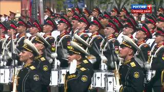 Барабанщики виртуозы / Virtuoso drummers - Moscow. Victory Parade on May 9, 2018