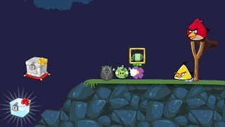 Bad Piggies - ZOMBIE PIG GOT KICKED TO CRATE WHILE MEETING ANGRY BIRDS!