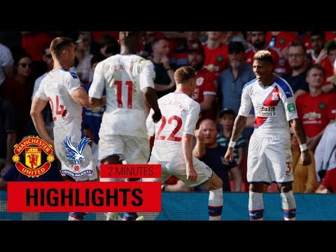Manchester United 1-2 Crystal Palace | Just The Goals