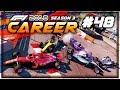 F1 2018 Career Mode Part 48: HUGE PILE-UP CRASH AT MONACO!
