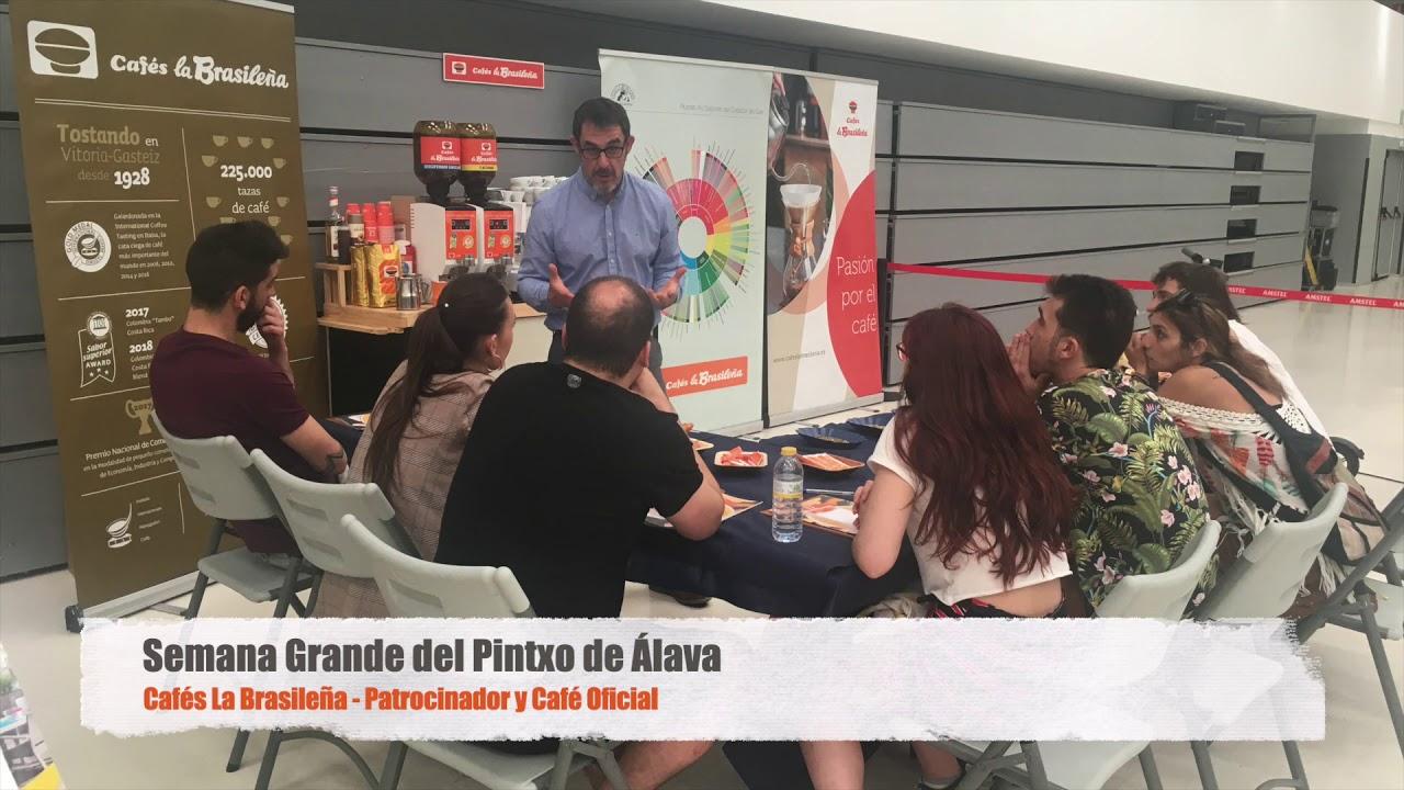 Cafés La Brasileña - Semana Grande del Pintxo de Álava