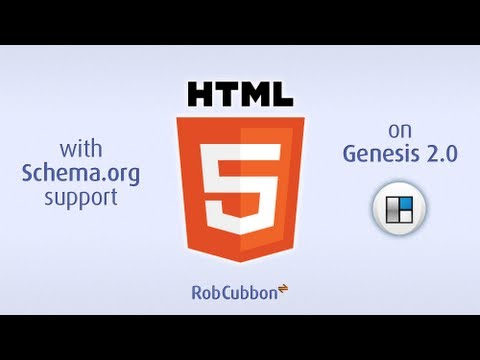 Updating to HTML5 with Schema.org Support on Genesis 2.0