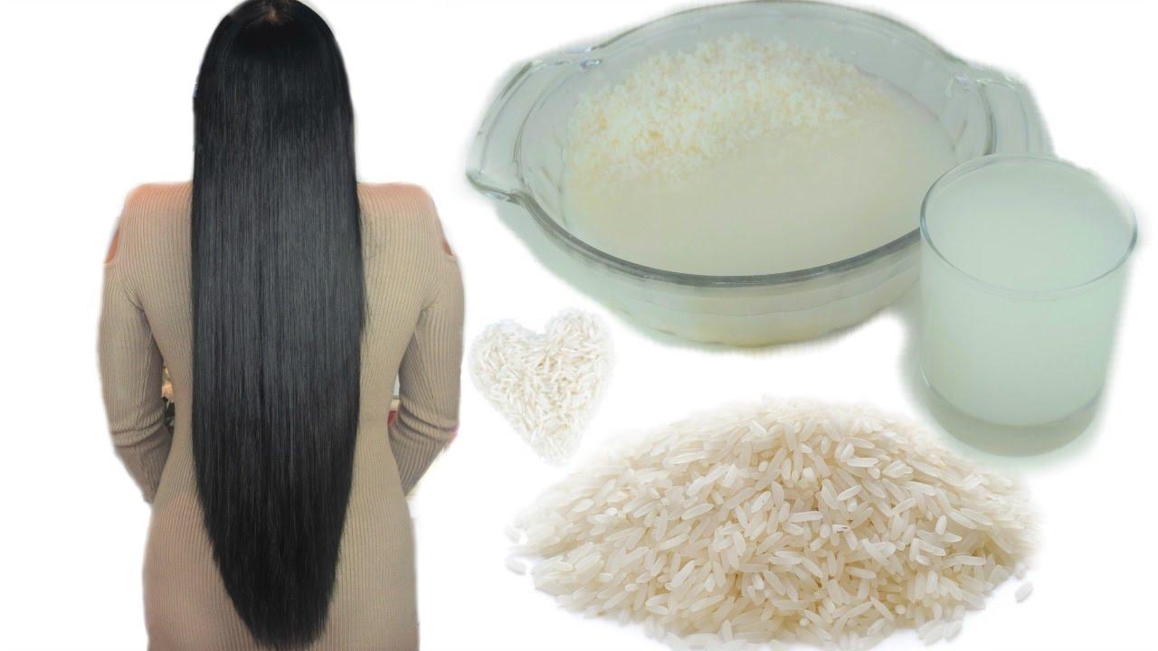 lavarse la cara con el agua del arroz