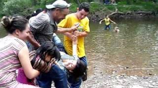 Familia Jaquez en el Rio de Santa Isabel Chihuahua 2007