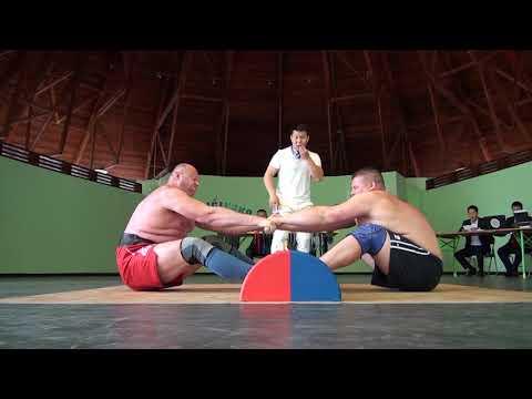 IMWF Mas Wrestling Absolute European Championship 2017 Progar