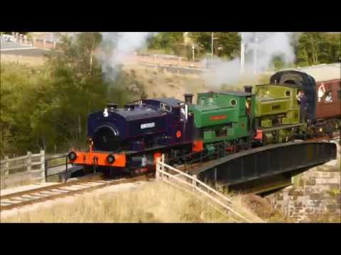 Pontypool & Blaenavon Railway Andrew Barclay Steam Gala 2014