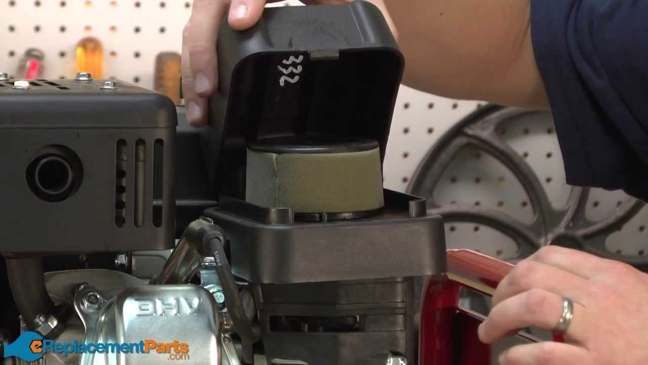 How To Replace The Air Filter On A Troy