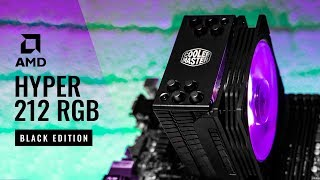 how to install Cooler Master Hyper 212 LED Turbo with mobo  Tech Land
