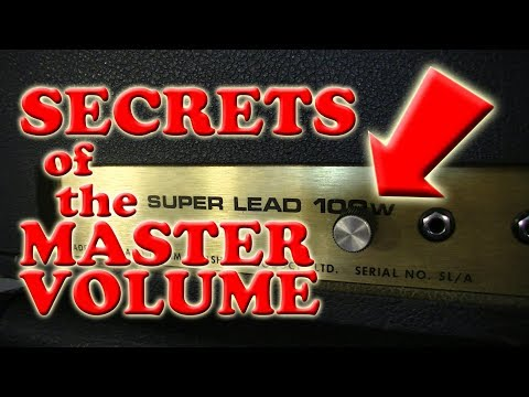 Master Volume Mods For Marshall And Fender Style Tube Amps