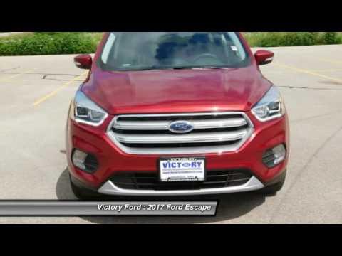 2017 Ford Escape Dyersville, Dubuque, Cedar Rapids, Manchester IA CH757