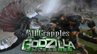 [Wii] All Monster Grapples - Godzilla: Unleashed