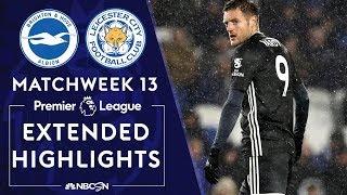 Brighton v. Leicester City   PREMIER LEAGUE HIGHLIGHTS   11/23/19   NBC Sports