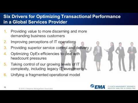 Optimizing Digital Transaction Performance: Why Most IT Organizations Fail and How You Can Succeed