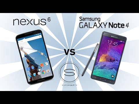 Google Nexus 6 vs Samsung Galaxy Note 4