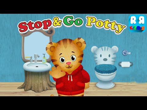 Daniel Tiger's Stop & Go Potty - iOS / Android - Full Gameplay