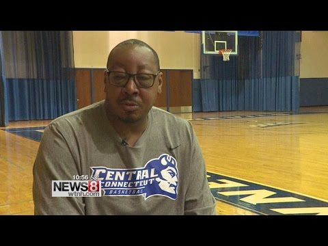 CCSU coach Donyell Marshall says Keshaun Hicks plays like him